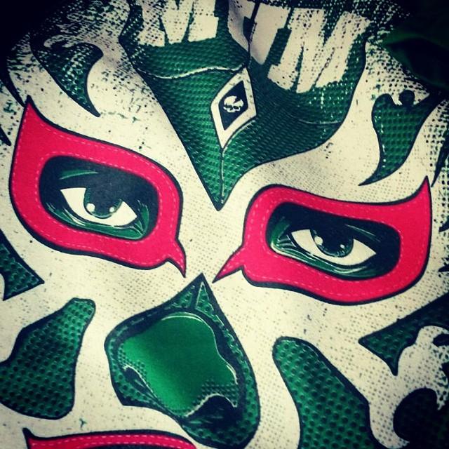 #tshirt #luchador #tee #miumtoys  #silkscreen