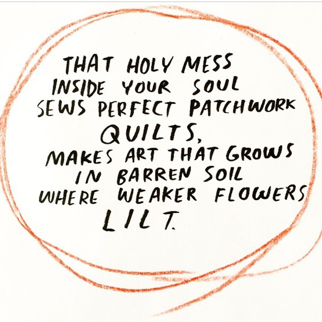 We be strong flowers | Artist @dallasclayton shines a light in dark corners #AllSwell