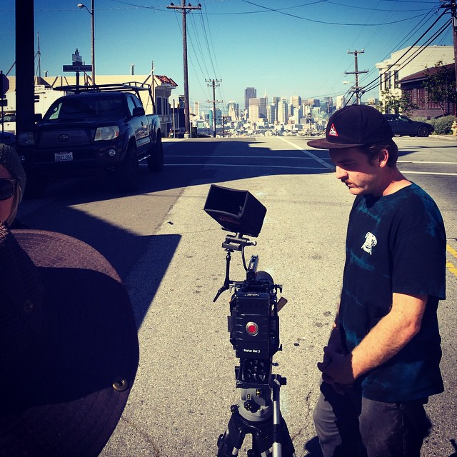 Throwback to last weekend when @_firewalkwithme and @stevegriggs shot a commercial for Bonzing!  #bonzing #sanfrancisco #redcam #yvonnebyers