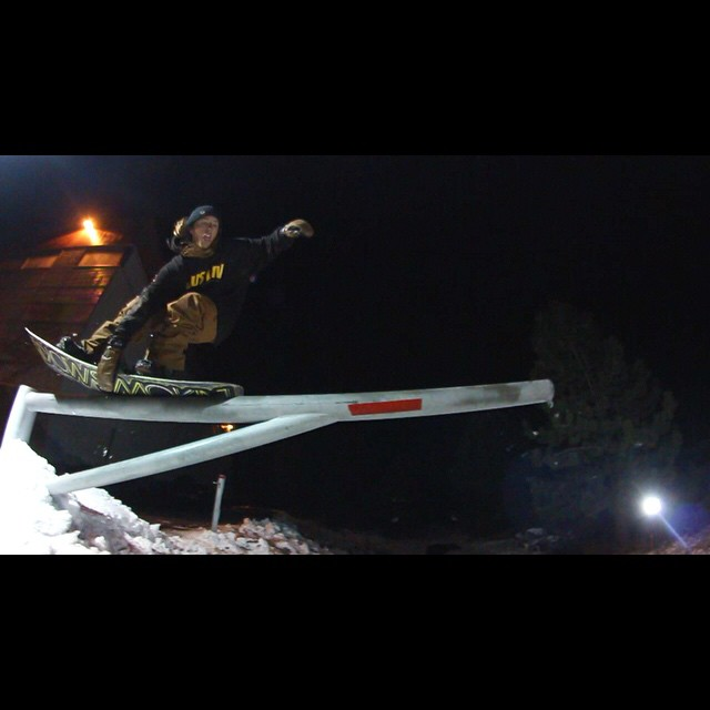 @matt_busedu has his nose presses on lock - screen grab from upcoming edit. #weareok #Awesymetrical #twin #heelspecific #3yearwarranty #forridersbyriders #handmadelaketahoe