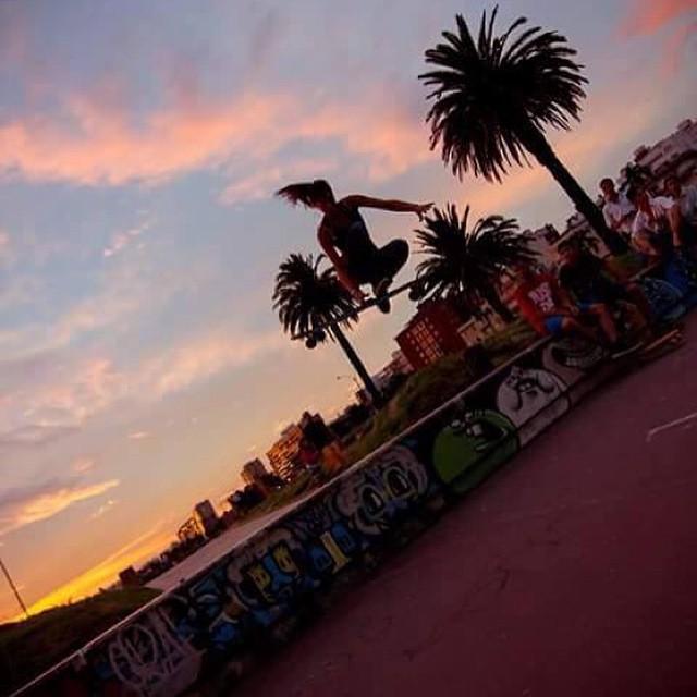 LGC Uruguay rider Melisa Rebollo shot by Rocio Pilar. Yeah Mel!  #LongboardGirlsCrew #girlswhoshred #melisarebollo #uruguay #miami