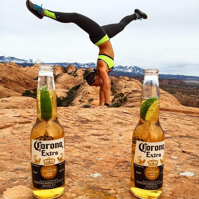 Corona-asana #moab #yoga