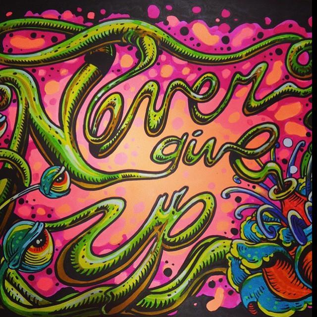 Si lo dice nuestro #featuredArtist Martin Varbaro @mvarbaro #NeverGiveUp ...buen Viernes Familia!!! #TrueToThis