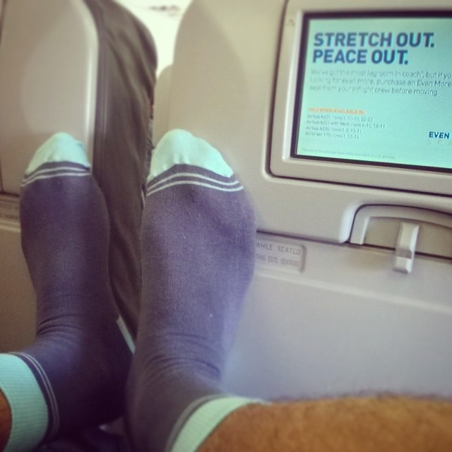 #ViernesDeViaje ✈️ Miami > Perú #travel with #style #socks #YoUsoSuarez #MediasConOnda