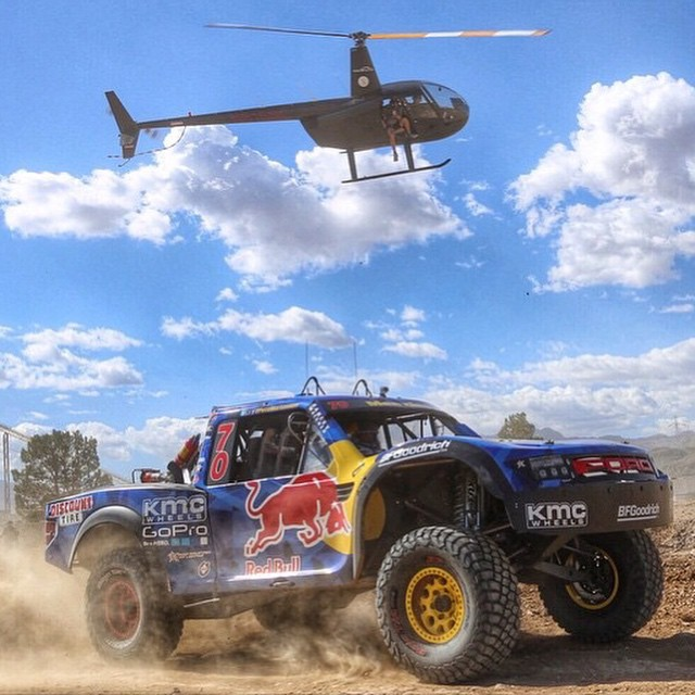 It takes a special breed of maniac to race the #Mint400. Follow @redbullLV to get some insight from the man himself, @BryceMenzies.