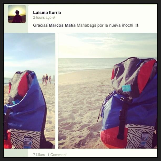 @luismaiturria + #discoverpack  listos para correr olas en #puntadeleste y el mundo! #goexplore #riders #surfing #alas