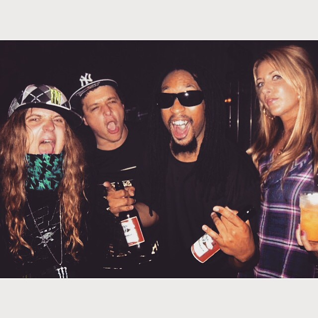 #fbf to that one time @thedingoinsnow got crunk with @liljon and Wutang in Australia with @jakebrown_1 @ladynaes #TurnDownForWhat