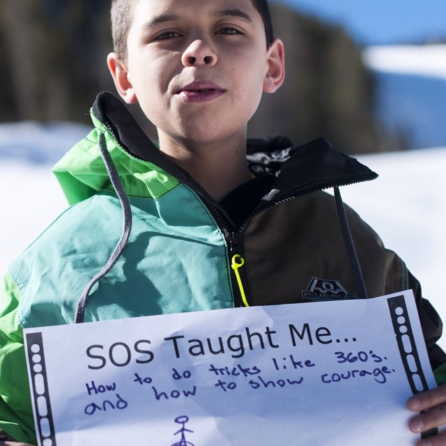 Our youth have been reflecting on their past year with SOS.  We are so proud of what they have to say. | www.sosoutreach.org | Photo Cred @schavski