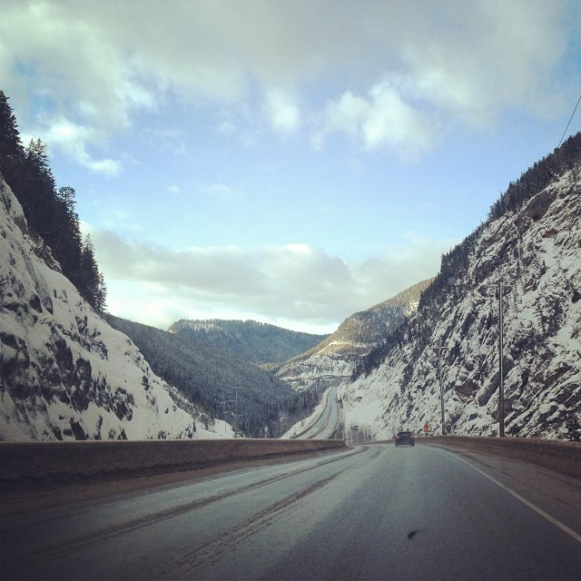 Driving from Banff to Revelstoke is sort of a pretty drive..