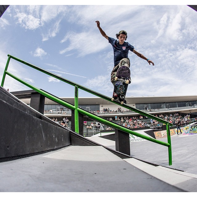 #XGames Skateboard Street competitor @trevorcolden turned 21 years old today. (