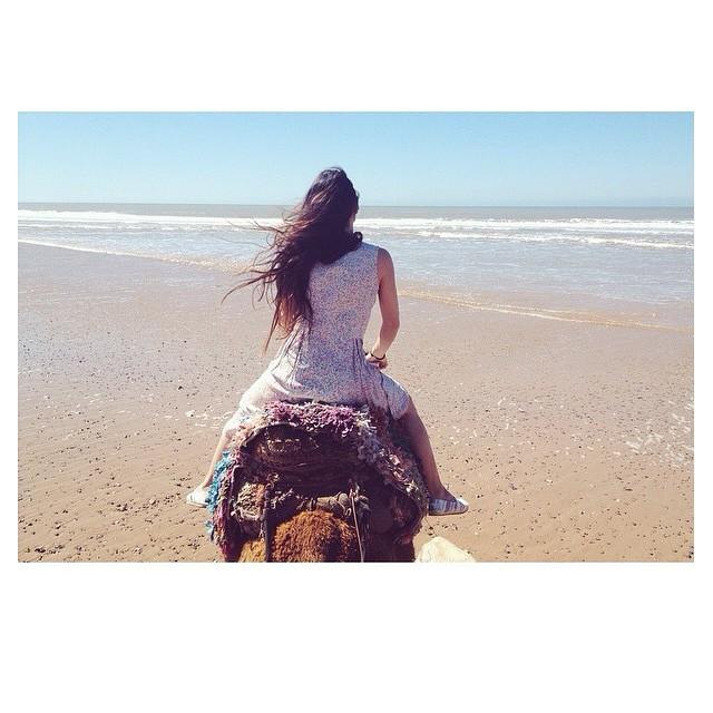 Riding my