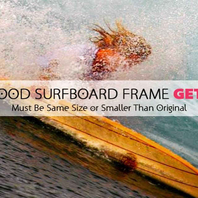 Buy on wood surfboard frame get the other free. #wavetribe #woodsurfboards