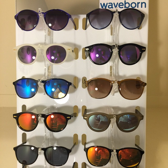Waveborn offers circular lenses in our Arroyo, Topanga, and Victoria frames #waveborn #nofilter #givesight