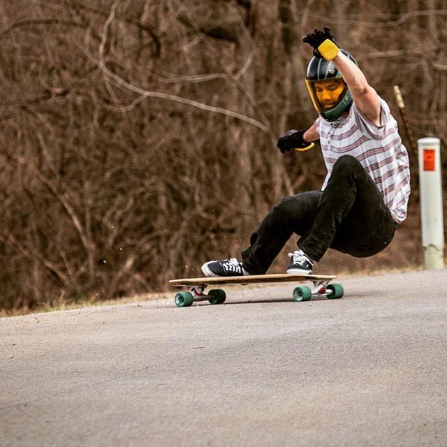 @andrewpletan shredding at Gnarkansas on the Penrose (Photo by Kyle Ramsey) #Gnarkansas #longboard #longboarding #longboarder #dblongboards #goskate #shred #rad #stoked #skateboard #skateboarding #skateboarder #longboardlife #kansas #world_longboard...