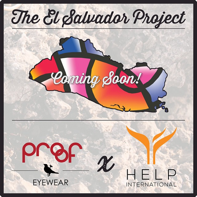 Big news - We're partnering up with @helpintl for another Do Good Project. This time, we're headed to El Salvador. Stay tuned for more information by signing up for our newsletter at iwantproof.com! #ElSalvadorProject