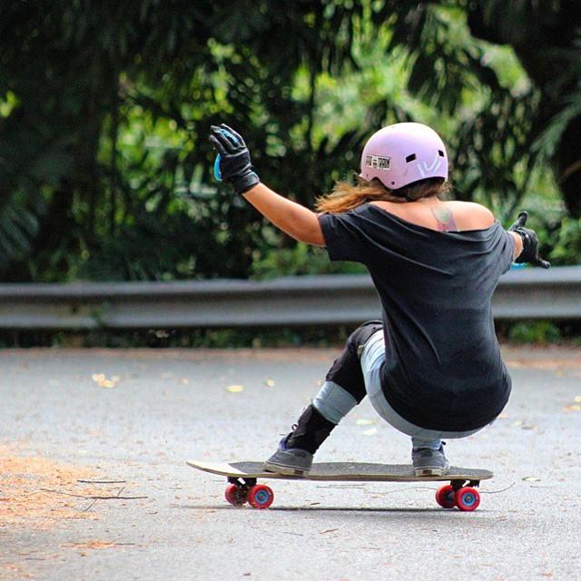 LGC Puerto Rico ambassador @keydennise shot by @joshuanel. Go Key!  #LongboardGirlsCrew #girlswhoshred #womensupportingwomen #keyladennise #puertorico