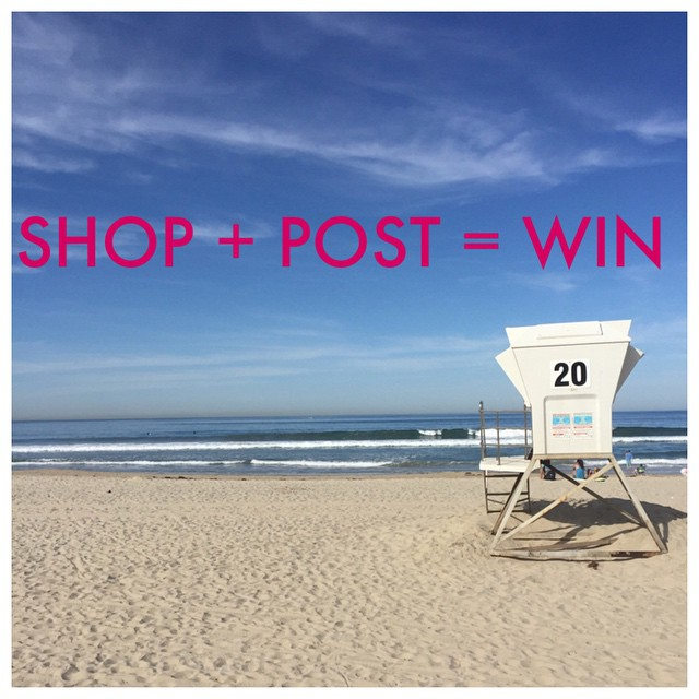 Wanna wake up here? SHOP + POST = WIN! Full details click link in profile. #promo #freevacation #win #luvsurf #california #sandiego #vacation #travel
