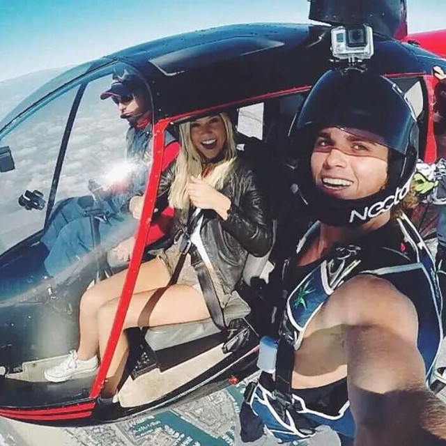 @jayalvarrez about to go 0 to 200 from a helicopter above LA || #doepicshit #thesweetlife #nectarlife