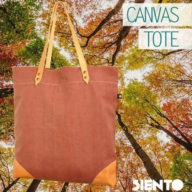Si ya empzaste a ver las primeras hojas del otoño, entonces este bolso es para vos! #sientobags #lifestyle & #totebags