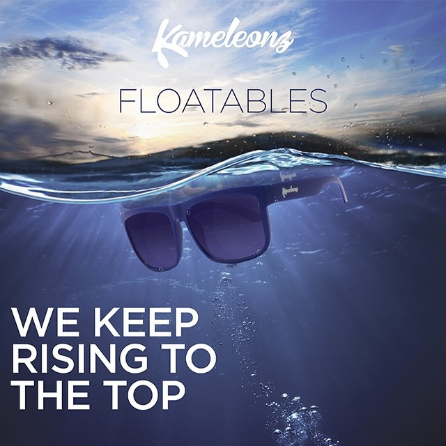 They're coming! Exclusively released on Kickstarter on 3.18.15 #Kameleonz #LifesABeach #KZWear #EnjoyTheRide #GoPro #Spring #Kickstarter #LifeIsGood #LifeIsAwesome #VacationLife #Floatable