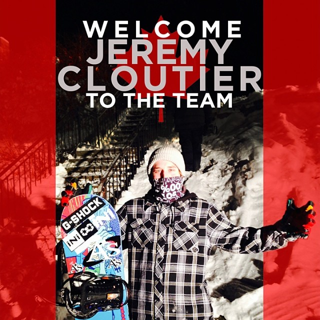 Welcoming Jeremy Cloutier, @jeremycloutier to our international Pro Team. Stoked to join forces. The last of our recent additions. @brothers_factory @axisboutique #ShredCanada #TeamIsStacked #Snowboarding @kingsnowmag @snowboardcanada @twsnow