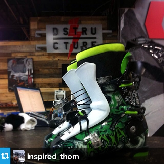 #Repost from @inspired_thom who is stoked on his new #freesoul10 from @dstructureshop