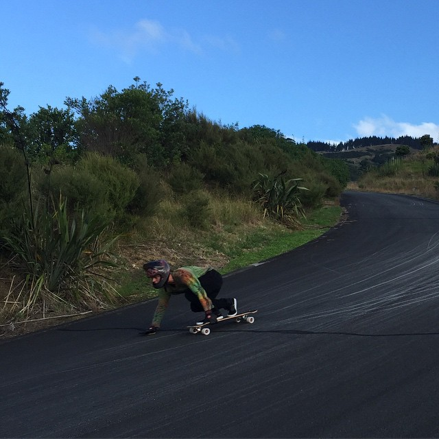 @brandontissen takes the fast line in NZ today. photo @liam_lbdr_