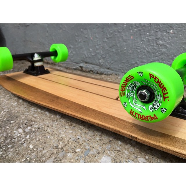 Style for days. This board is live on our website. #handmade #handmadeskateboards #nashville