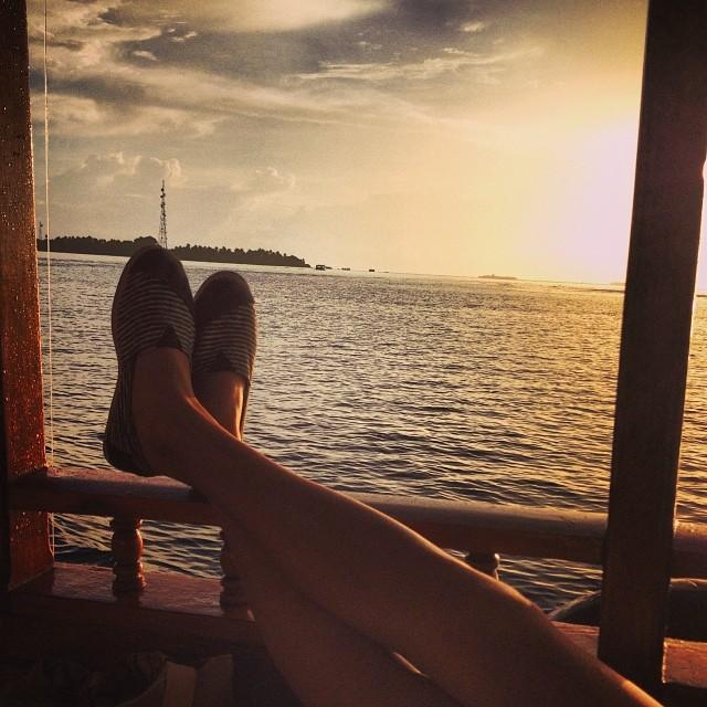 Joy de vivre ☀️ #sunset #paezshoes #paezselfie #summer #paez
