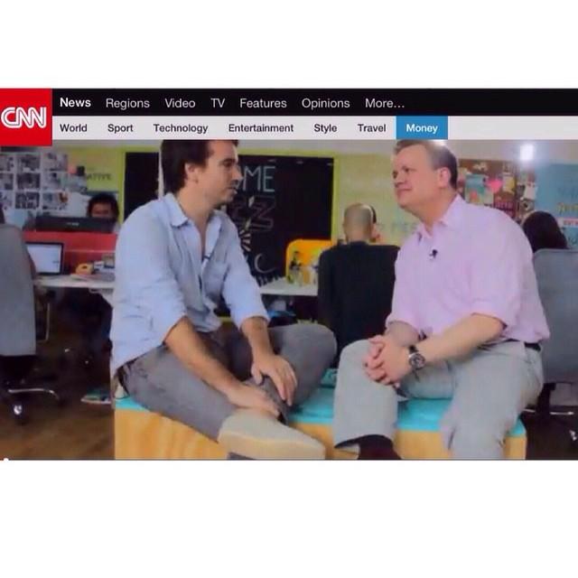 Hoy a las 21.30 Arg. No se pierdan la exclusiva entrevista de CNN Español a Francisco Murray, CEO y co-founder de #Paez sobre la clave del éxito de la marca y como quitarse el miedo a emprender.