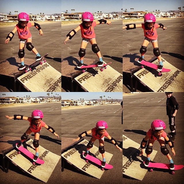 Use #freshpark to learn how to skate! #skate #ramp