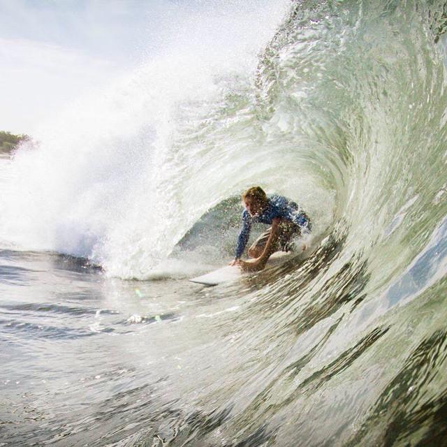 Best seat in the house // @sea.nicaragua #surf #disiduallivin #saltwaterbandits #disidual #brokeandstoked #surfiseverything #barreled #Nicaragua #keepitwild #adventure #ocean @instagood #warmcurrent #swell