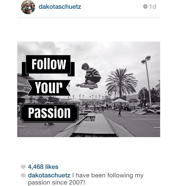 Repost by @dakotaschuetz Follow Your Passion! #freshpark