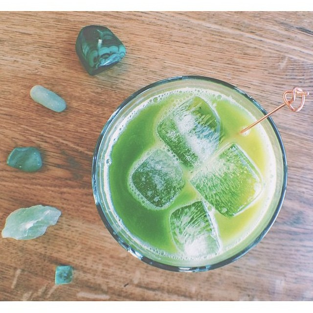 You may be drinking green beer tonight, but that doesn't mean you can't start your day with a cancer-fighting powerhouse green juice!  Recipe on the blog: www.b4bc.org/blog  #cancerfightingfoods #stpatricksday #greenjuice
