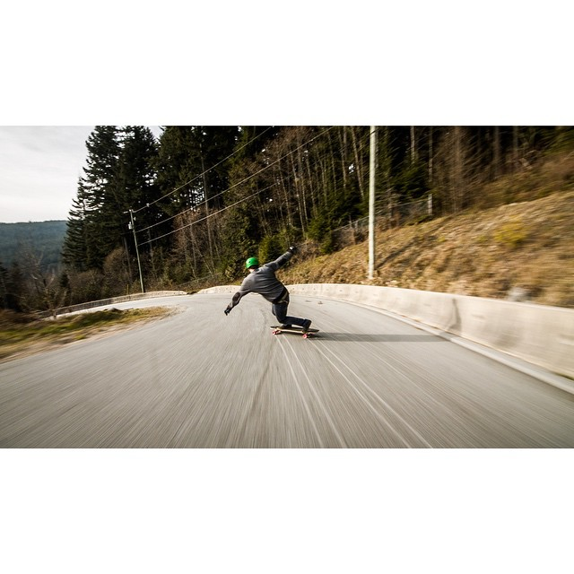 #predatorteam rider @mikefitter blasting backside into a left somewhere in #beautifulbritishcolumbia over the weekend. #predatorhelmets #FR7 #originalpredatordesign #tocatchapredator
