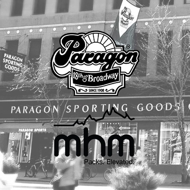 NEW DEALER ALERT: We are proud to announce MHM packs are now available at @paragonsports on 18th and Broadway in NYC! Stoked to work with such a long-standing and well regarded shop! Since 1908...half of you weren't even alive yet! #PacksElevated #mhmgear