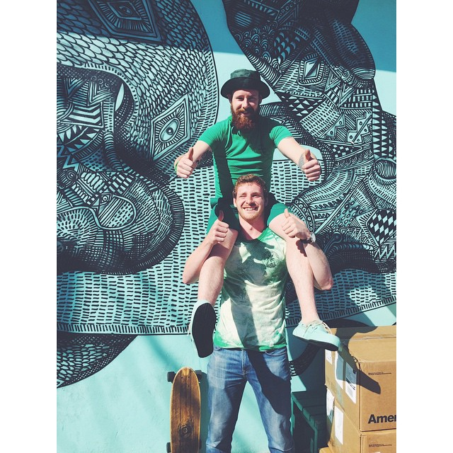 Happy St. Patrick's Day from our lucky charms @killianingitson @jrrap #stpatricksday #soleswithsoul #indosolecrew #afewgoodirishmen
