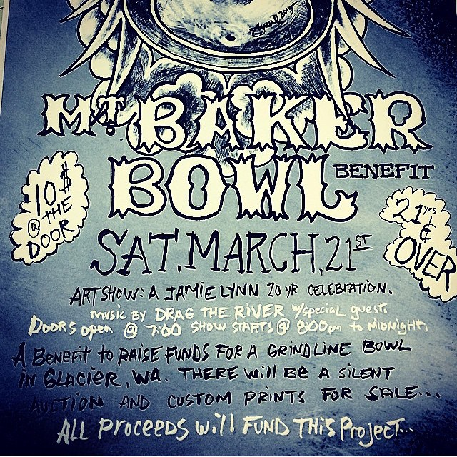 It snowed this week and #Baker is opening for the #BakerBowl , I can't wait cause I get to go!! #forridersbyriders #handmadelaketahoe