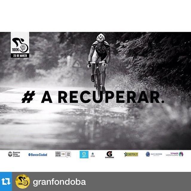 #Repost @granfondoba with @repostapp.・・・#Ciclismo: Falta cada vez menos para el @GranFondoBA, ya entrenaste y diste todo. A juntar fuerzas para la gran competencia. #WinFromWithin #GFBA