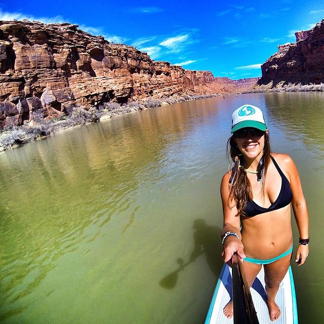 Desert Girl. River Mermaid.