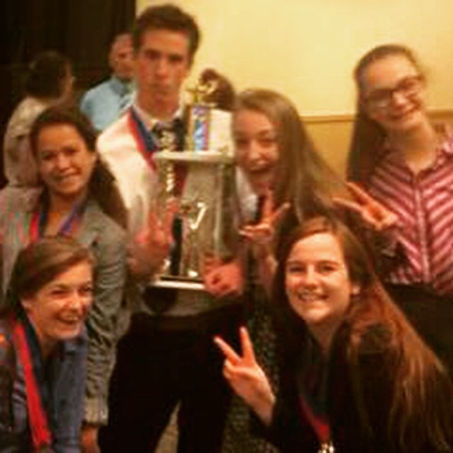 Congrats to SOS Masters Participant Jessica Richie + Vail Christian High School for winning the #academic #decathlon state competition.  So proud of Jess for being a #leader both within and outside of SOS! #inspireyouth #colorado #denver