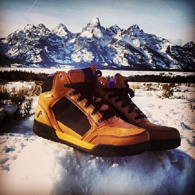 Awesome pic from @pharcyde145 of his Thurstons in front of the Tetons! Thanks for the pic Mat! #Forsake