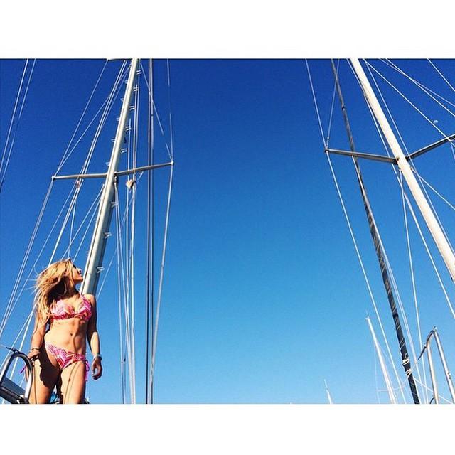 Sailing take me away...