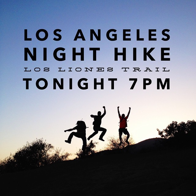 If you're in Los Angeles tonight, join Parks Project Ambassadors @shoestringadventures @she_explores and @thevanman for a night hike at 7PM on the Los Liones Trail in Topanga State Park! Bring your headlamps! Address: 580 Los Liones Dr. Pacific...