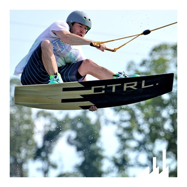 #FanFriday is going off with a solid #Stalefish from @adam_adub!  #Style #Wake #Wakeboard #Wakeboarding #InCTRL #CTRLwake #WhyCTRL #Wakeboarder #CablePark #KillingIt