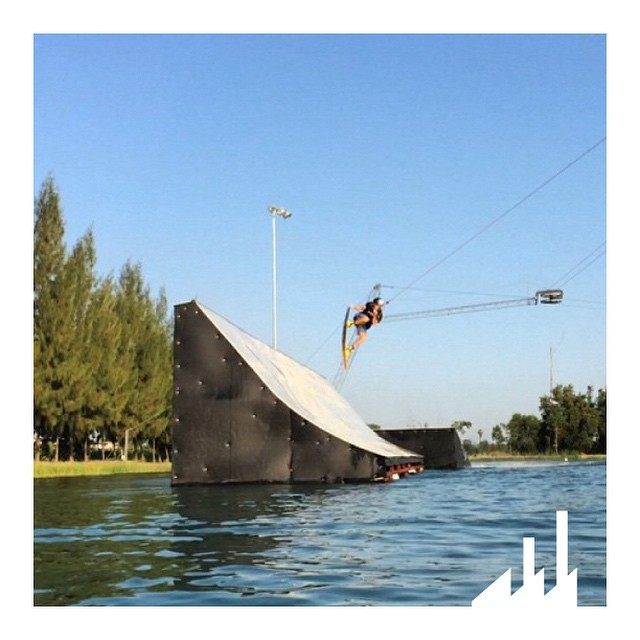 @MattyHasler dropping in on the #Hip in #Thailand earlier this month!  It's always warm somewhere so get out there and #Wakeboard!  #Wakeboarding #InCTRL #WhyCTRL #CTRLwake #Thailand