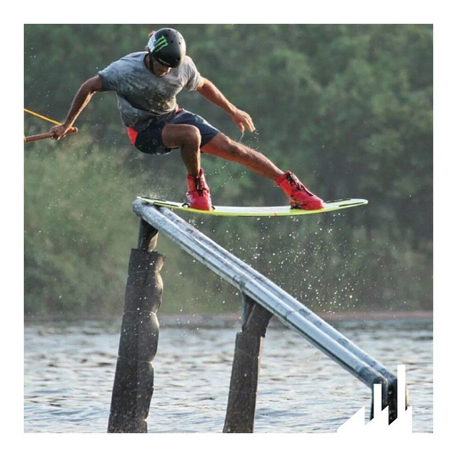 Well what can we say...the guy has some balance!  @LiorSo is a legend and is always pushing his limits during his travels.  #WhyCTRL #InCTRL #CTRLwake #Wakeboard #Wakeboarding #Thailand #NiceGuy