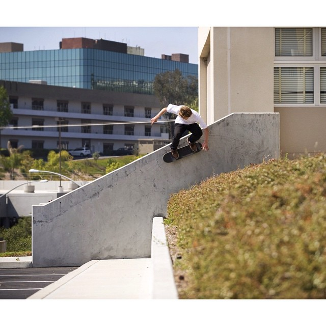 "@thrashermag takes a look back at #WesKremer's 2010 breakthrough part in DC's ""Skateboarding if Forever"" in today's ""Classics"". Watch the full part at thrashermagazine.com  Wallride. Photo: @blabacphoto #DCShoes"