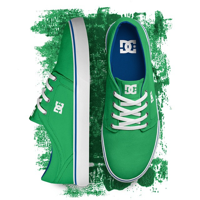 We're wearing green today, are you? Get the Trase in Green at: dcshoes.com/Trase. #DCshoes #DCTrase #TheOriginalSinceNow