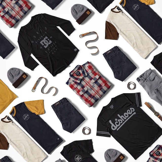 The @chriscobracole Initials Collection is all new for Spring 2015 & features unique Cole designed pieces including the Steamtown zip flannel & Fanatic jersey. dcshoes.com/initialscole #DCShoes #ChrisCole